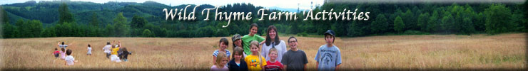 Wild Thyme Farm Activities