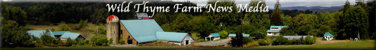 Wild Thyme Farm News Media